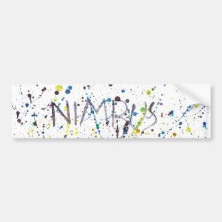Nimbus Bumpersticker
