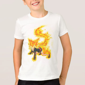 Nina Ferocious Fire Spirit Aura T Shirt