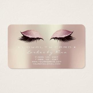 Nina Loyalty Card 6 de Zwepen van de Schoonheid Visitekaartjes