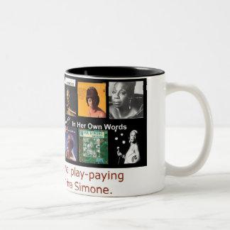 Nina Simone: In Haar Eigen Woorden Tweekleurige Koffiemok
