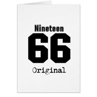 Ninen 66 de Originele 29ste Wijnoogst van de Briefkaarten 0