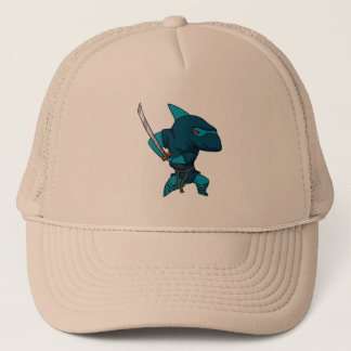 Ninja van de haai trucker pet