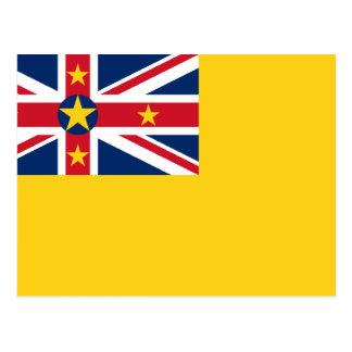 Niue, Nieuw Zeeland Briefkaart