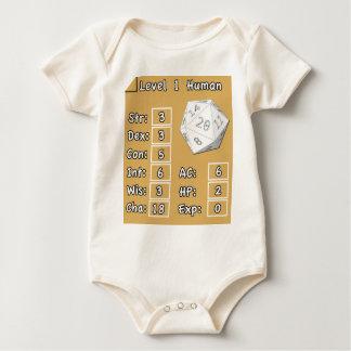 Niveau 1 Mens Baby Shirt