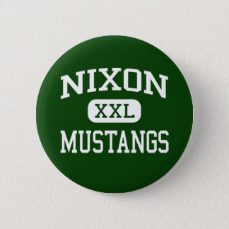 Nixon - Mustangen - Middelbare school - Laredo Ronde Button 5,7 Cm