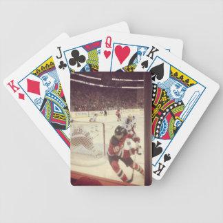 NJ duivels versus de speelkaarten van de Bereden p Poker Kaarten