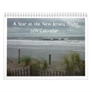 NJ kust 2011 Kalender