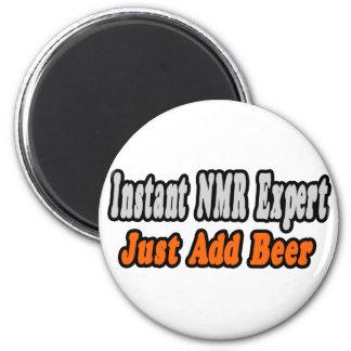 NMR Deskundige… voegt Bier toe Magneet