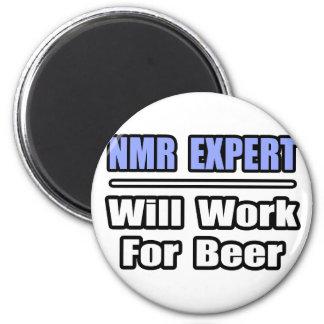 NMR Deskundige zal… voor Bier werken Koelkast Magneetjes