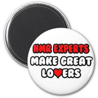 NMR Deskundigen maken Grote Minnaars Koelkast Magneetje