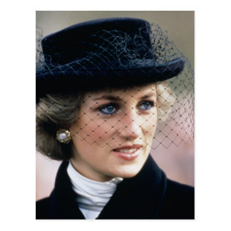 No.44 Prinses Diana Frankrijk 1988 Briefkaart