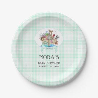 Noah de Groene Gingang van de Munt van de Dieren Papieren Bordje