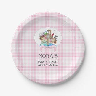 Noah de Roze Gingang van de Dieren van de Bak Papieren Bordje
