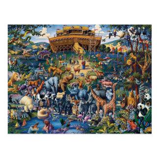 Noah het Dierlijke Art. van de Bak Briefkaart