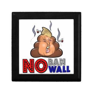 NoBanNoWall Geen Verbod Geen Verbod van de Decoratiedoosje