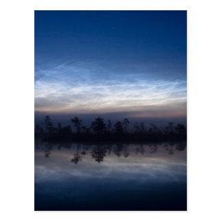 Noctilucent Nationale Park Estland van Soomaa van Briefkaart