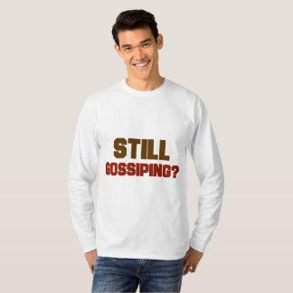 Nog het Roddelen de T-shirt van het Mannen