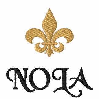 NOLA New Orleans Fleur DE Lis Geborduurd Poloshirt