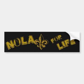 NOLA voor de sticker van de Bumper van het Leven