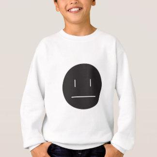 nonchalant negatief gezicht trui