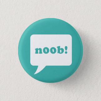 """""""noob!"""" knoop ronde button 3,2 cm"""