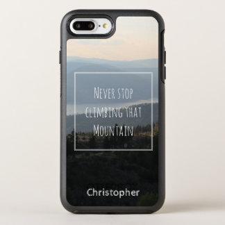 """""""Nooit Einde die het Schilderachtig Citaat dat van OtterBox Symmetry iPhone 7 Plus Hoesje"""
