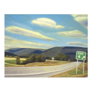 Noonlight in Vermont Briefkaart