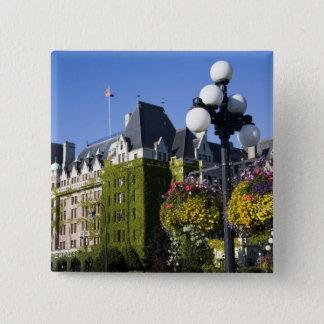 Noord-Amerika, Canada, Brits Colombia, 5 Vierkante Button 5,1 Cm