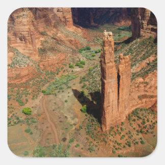 Noord-Amerika, de V.S., Arizona, Navajo Indiër 7 Vierkante Sticker