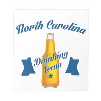 Noord-Carolina dat team drink Kladblok