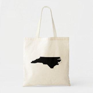 Noord-Carolina in Zwart-wit Draagtas