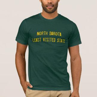 Noord- Dakota minste bezocht staatsoverhemd T Shirt