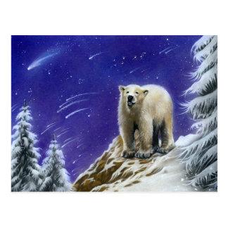 Noordelijk de ijsbeerbriefkaart van Lichten Briefkaart