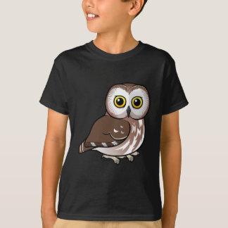 Noordelijke Birdorable zaag-wet Uil T Shirt