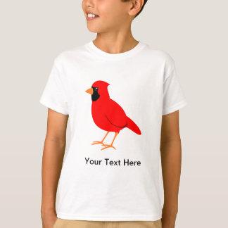 Noordelijke Rode HoofdVogel T Shirt