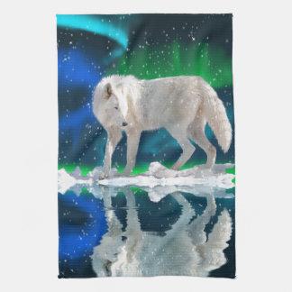 Noordpool Wolf, Dageraad & het Dalende Art. van he Theedoek