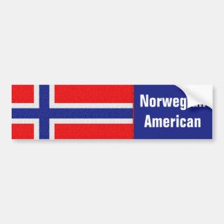 Noorse Amerikaan Bumpersticker