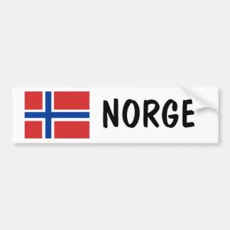 Noorwegen Bumpersticker