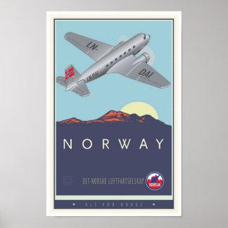 Noorwegen Poster