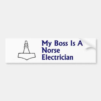 Norse de Sticker van de Bumper van de Elektricien