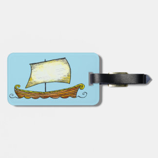 Norse het Label van de Bagage van het Schip van Bagagelabel