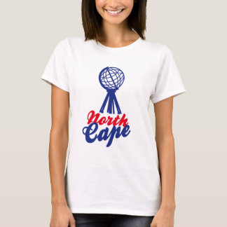 NORTH CAPE GLOBE SCULP. T SHIRT