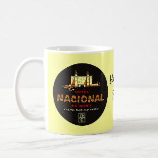 Nostalgie van de Reis van het HOTEL NACIONAL DE Koffiemok