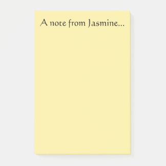 Nota van Jasmijn Post-it® Notes
