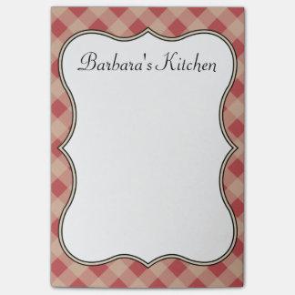 Nota's van de Keuken van het land de Rode Post-it® Notes