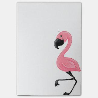Nota's van de Post-it van de flamingo de Roze Post-it® Notes