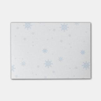 Nota's van de Post-it van de Sneeuwvlok van de Post-it® Notes