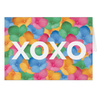 Notecard - xoxo notitiekaart