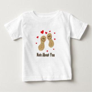 Noten over u de Leuke Humor van de Woordspeling Baby T Shirts
