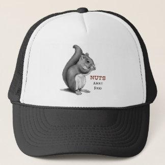 Noten over Voedsel: Eekhoorn: De Tekening van het Trucker Pet